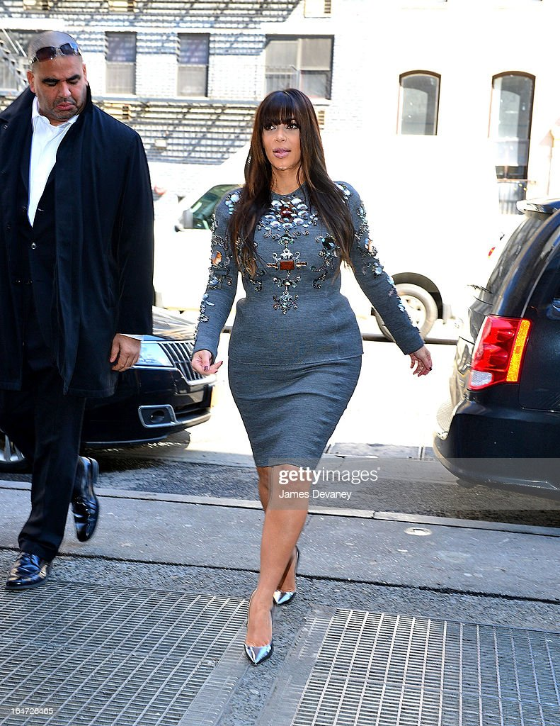 <a gi-track='captionPersonalityLinkClicked' href=/galleries/search?phrase=Kim+Kardashian&family=editorial&specificpeople=753387 ng-click='$event.stopPropagation()'>Kim Kardashian</a> arrives to The Darby on March 27, 2013 in New York City.