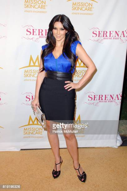 Kim Kardashian attend Serena Williams Throws A PreESPY's Fete to Honor Athletes and Celebrities at a Private Residence on July 12th 2010 in Los...
