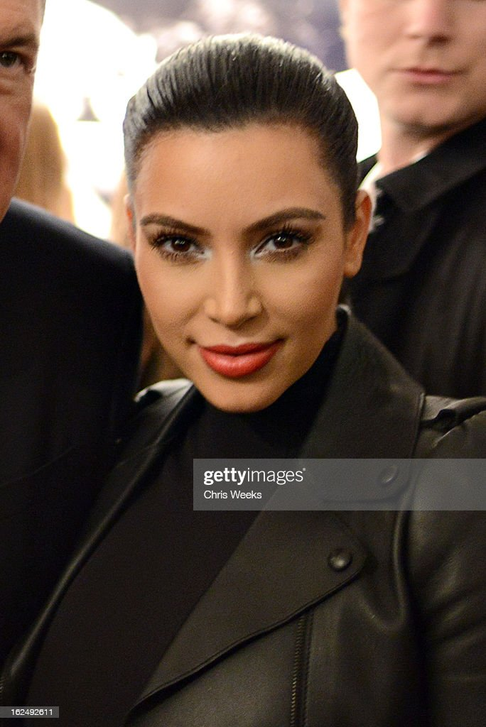 <a gi-track='captionPersonalityLinkClicked' href=/galleries/search?phrase=Kim+Kardashian&family=editorial&specificpeople=753387 ng-click='$event.stopPropagation()'>Kim Kardashian</a> attends a Private Reception For Mario Testino at PRISMon February 23, 2013 in West Hollywood, California.