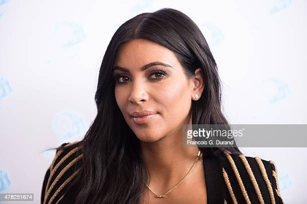Kim Kardashian attends a 'Sudler' talk during Cannes Lions International Festival of Creativity on June 24 2015 in Cannes France