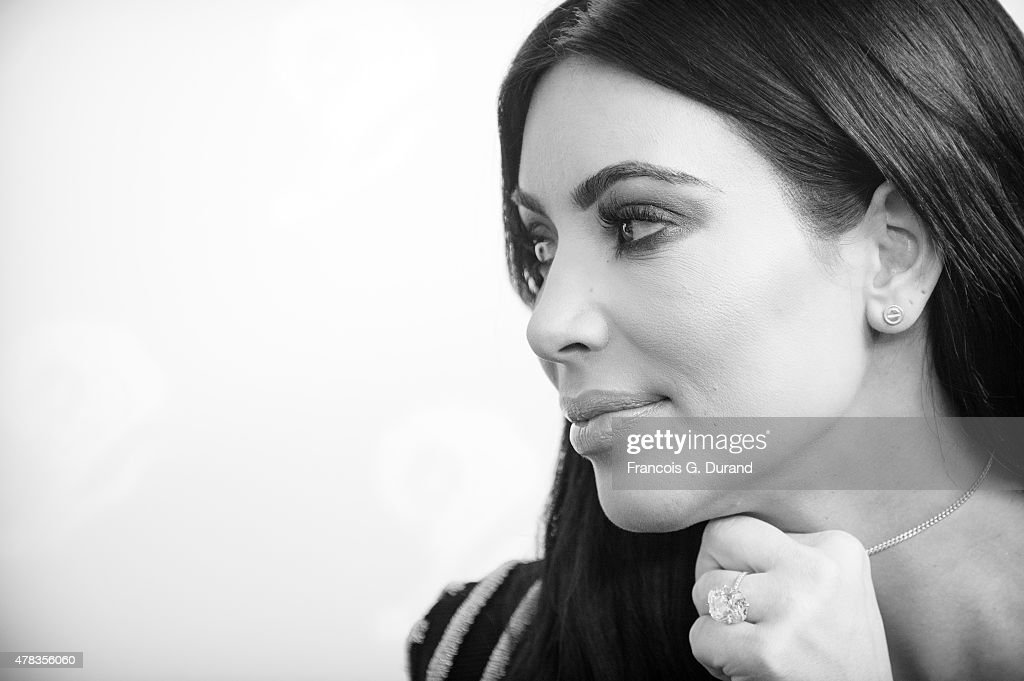 Kim Kardashian attends a 'Sudler' talk during Cannes Lions International Festival of Creativity on June 24, 2015 in Cannes, France.