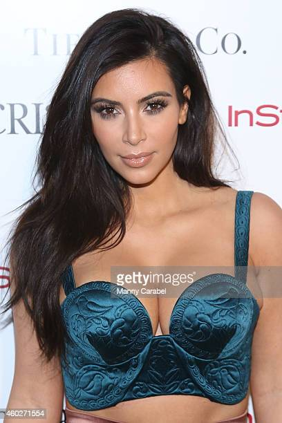 Kim Kardashian attends ACRIA's 19th Annual Holiday Dinner Benefit at Skylight Modern on December 10 2014 in New York City