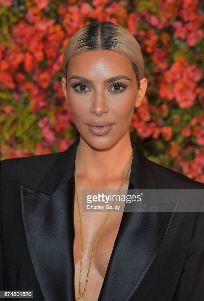 Kim Kardashian attends Bumble Bizz Los Angeles Launch Dinner At Nobu Malibu at Nobu Malibu on November 15 2017 in Malibu California