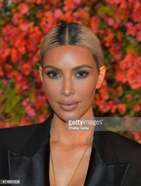 Kim Kardashian attends Bumble Bizz Los Angeles Launch Dinner At Nobu Malibu at Nobu Malibu on November 15 2017 in Malibu California
