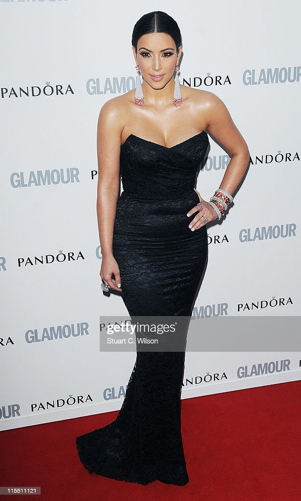 Kim Kardashian attends Glamour Women Of The Year Awards at Berkeley Square Gardens on June 7, 2011 in London, England.