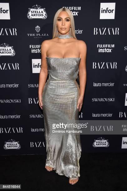 Kim Kardashian attends Harper's BAZAAR Celebration of 'ICONS By Carine Roitfeld' at The Plaza Hotel presented by Infor Laura Mercier Stella Artois...
