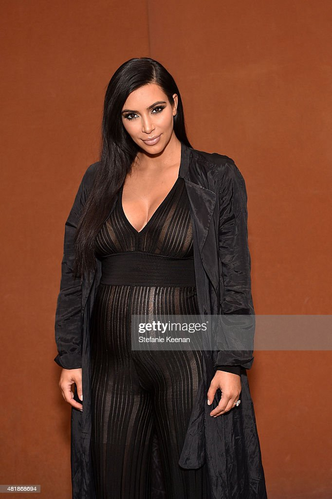 <a gi-track='captionPersonalityLinkClicked' href=/galleries/search?phrase=Kim+Kardashian&family=editorial&specificpeople=753387 ng-click='$event.stopPropagation()'>Kim Kardashian</a> attends LACMA Director's Conversation With Steve McQueen, Kanye West, And Michael Govan About 'All Day/I Feel Like That' presented by NeueHouse in association with UTA Fine Arts at LACMA on July 24, 2015 in Los Angeles, California.