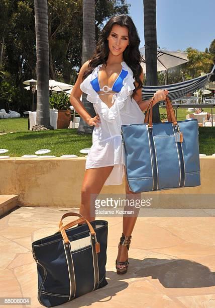 MALIBU CA MAY 24 Kim Kardashian attends Nivea and Shay Todd's 'Bikini Bash' at Nivea Beach House on May 24 2009 in Malibu California