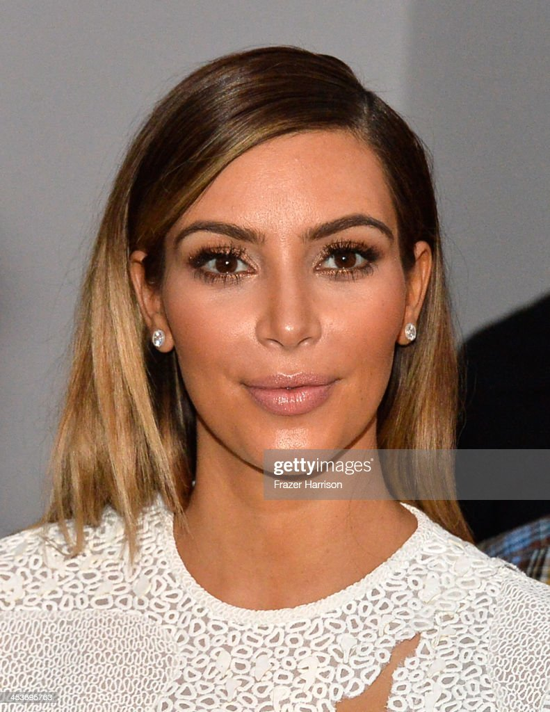 Kim Kardashian attends Surface Magazine's DesignDialogues No. 6 With Hans Ulrich Obrist, Kanye West And Jacques Herzog at Moore Building on December 5, 2013 in Miami, Florida.