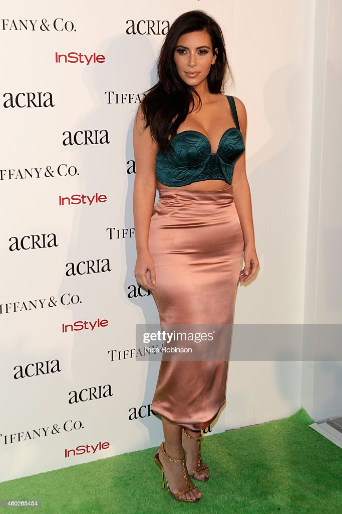 Kim Kardashian attends the 19th Annual ACRIA Holiday Dinner at Skylight Modern on December 10, 2014 in New York City.