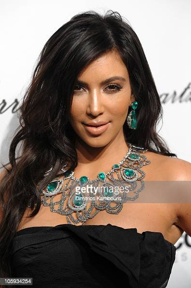 Kim Kardashian attends the 2010 Angel Ball to Benefit Gabrielle's Angel Foundation at Cipriani Wall Street on October 21 2010 in New York City