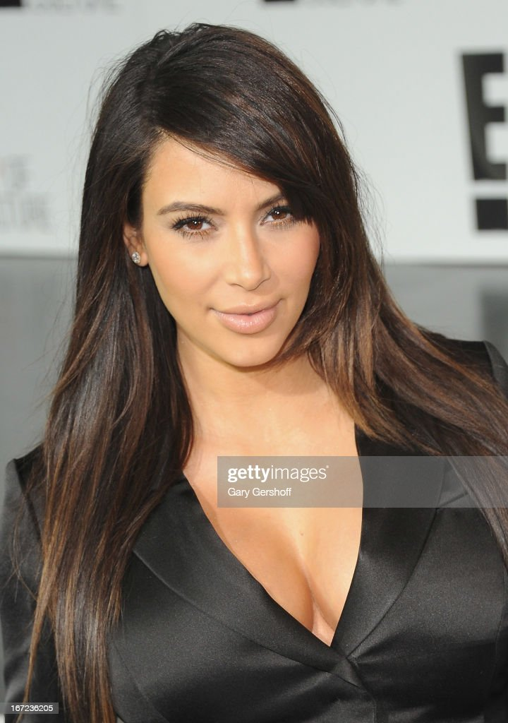 Kim Kardashian attends the 2013 E! Upfront at The Grand Ballroom at Manhattan Center on April 22, 2013 in New York City.
