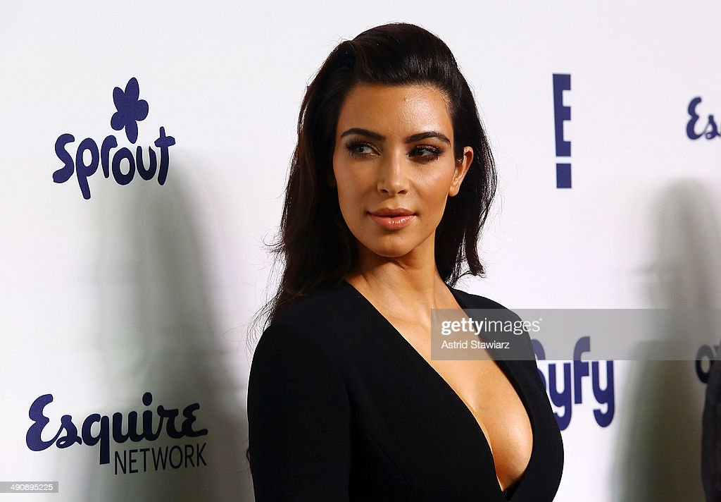 <a gi-track='captionPersonalityLinkClicked' href=/galleries/search?phrase=Kim+Kardashian&family=editorial&specificpeople=753387 ng-click='$event.stopPropagation()'>Kim Kardashian</a> attends the 2014 NBCUniversal Cable Entertainment Upfronts at The Jacob K. Javits Convention Center on May 15, 2014 in New York City.