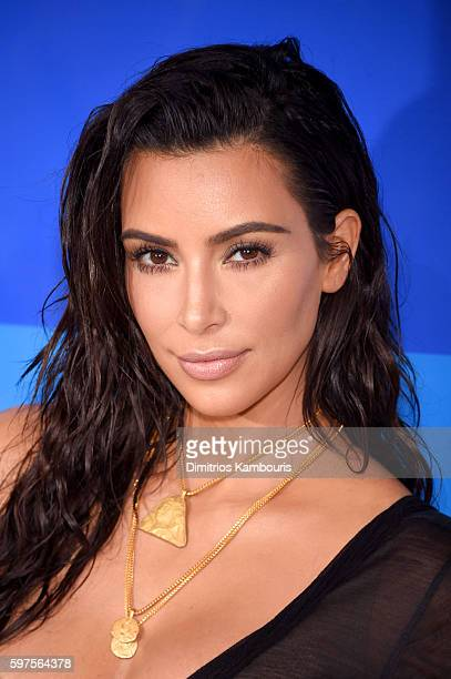 Kim Kardashian attends the 2016 MTV Video Music Awards at Madison Square Garden on August 28 2016 in New York City