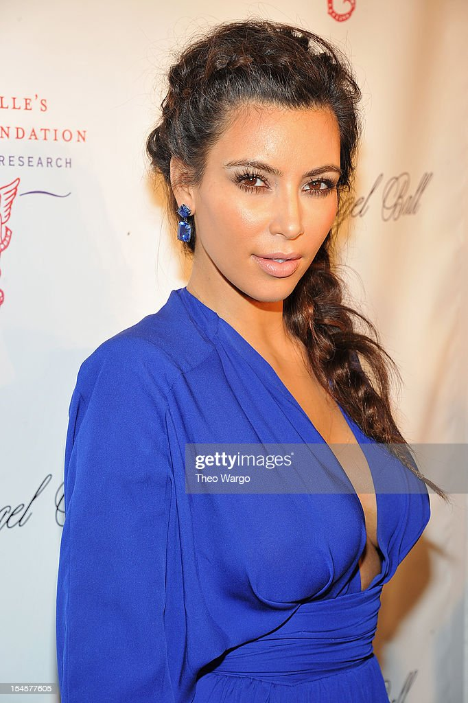 Kim Kardashian attends the Angel Ball 2012 hosted by Gabrielle's Angel Foundation at Cipriani Wall Street on October 22 2012 in New York City