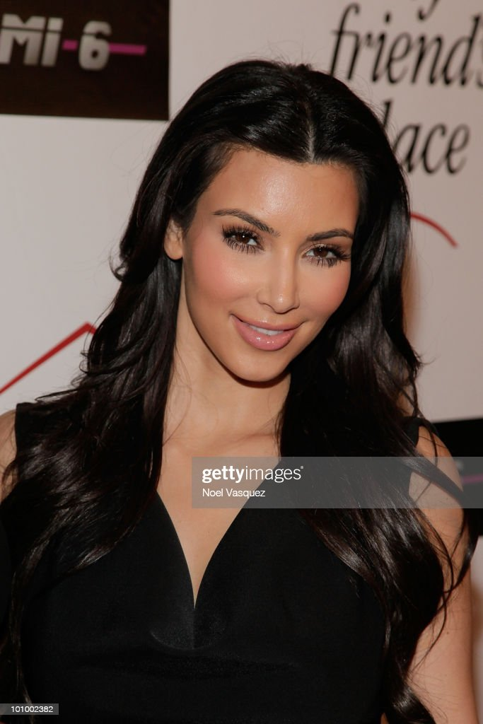 Kim Kardashian attends the Charity Clothing Drive benefiting 'My Friend's Place' hosted by Kelly Osbourne at Mi6 on May 26, 2010 in West Hollywood, California.