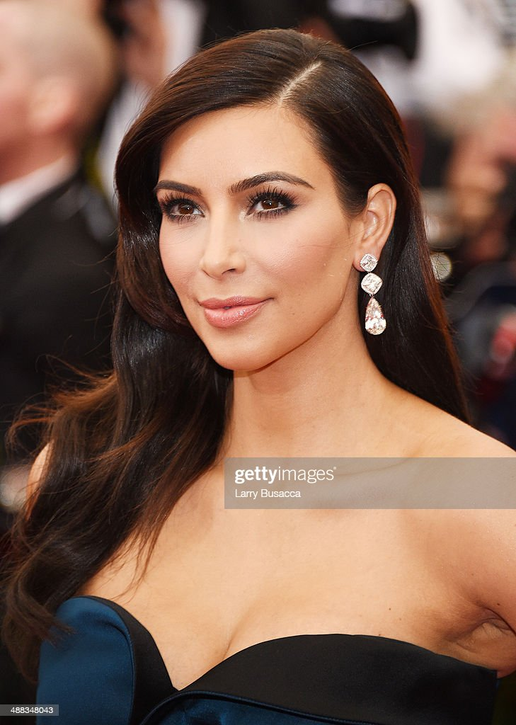 Kim Kardashian attends the 'Charles James Beyond Fashion' Costume Institute Gala at the Metropolitan Museum of Art on May 5 2014 in New York City