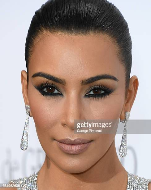 Kim Kardashian attends the De Grisogono Party at the annual 69th Cannes Film Festival at Hotel du CapEdenRoc on May 17 2016 in Cap d'Antibes France