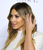 Kim Kardashian attends the Dream For Future Africa Foundation gala at Spago on October 24 2013 in Beverly Hills California