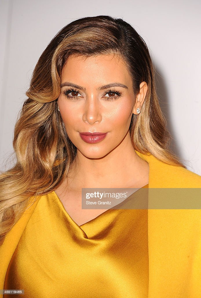 Kim Kardashian attends The Hollywood Reporter's 22nd annual Women In Entertainment Breakfast Honoring Oprah Winfrey at Beverly Hills Hotel on December 11, 2013 in Beverly Hills, California.