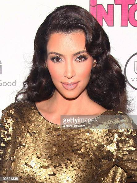 Kim Kardashian attends the In Touch Weekly's ICONS IDOLS CELEBRATION at St Bart�s Cathedral on September 13 2009 in New York City