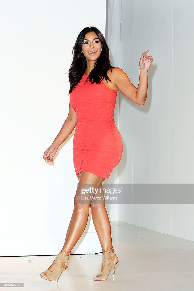<a gi-track='captionPersonalityLinkClicked' href=/galleries/search?phrase=Kim+Kardashian&family=editorial&specificpeople=753387 ng-click='$event.stopPropagation()'>Kim Kardashian</a> attends the Kardashian Kollection Spring Launch at Westfield Parramatta on September 13, 2014 in Sydney, Australia.