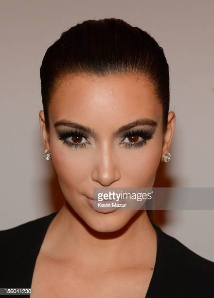 Kim Kardashian attends the MTV EMA's 2012 at Festhalle Frankfurt on November 11 2012 in Frankfurt am Main Germany