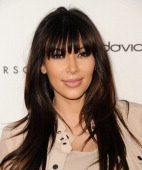 Kim Kardashian attends the opening of Tracy Anderson Flagship Studio on April 4 2013 in Brentwood California
