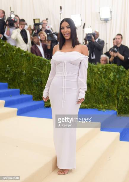 Kim Kardashian attends the 'Rei Kawakubo/Comme des Garcons Art Of The InBetween' Costume Institute Gala at Metropolitan Museum of Art on May 1 2017...