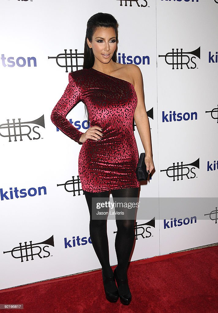 Kim Kardashian attends the 'Rich Soil' launch party at Kitson on Roberston on October 21, 2009 in Beverly Hills, California.