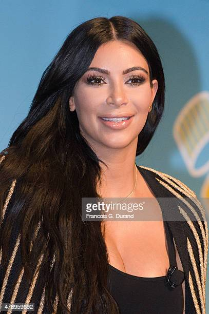 Kim Kardashian attends the 'Sudler' seminar during Cannes Lions International Festival of Creativity on June 24 2015 in Cannes France