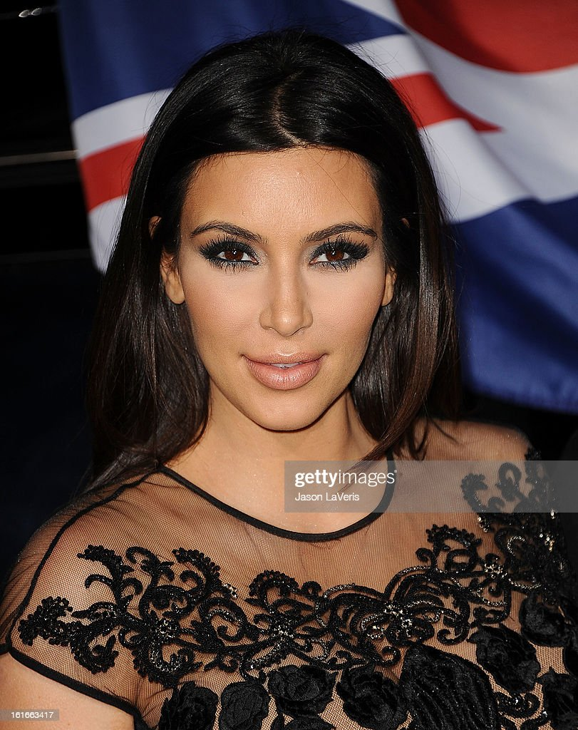 Kim Kardashian attends the Topshop Topman LA flagship store opening party at Cecconi's Restaurant on February 13, 2013 in Los Angeles, California.