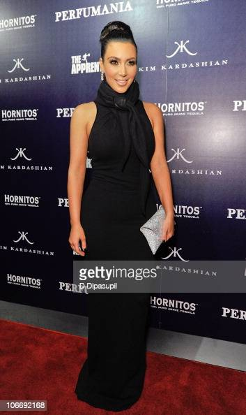 Kim Kardashian celebrates Perfumania's appearance with her on 'The Apprentice' at Provacateur on November 10 2010 in New York City