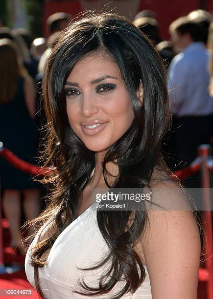 Kim Kardashian during 2006 ESPY Awards Arrivals at Kodak Theatre in Hollywood CA United States