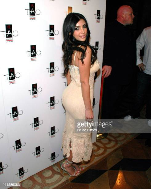Kim Kardashian during Kim Kardashian Host TAO Las Vegas' First Princess Party April 6 2007 at The Venetian in Las Vegas Nevada United States