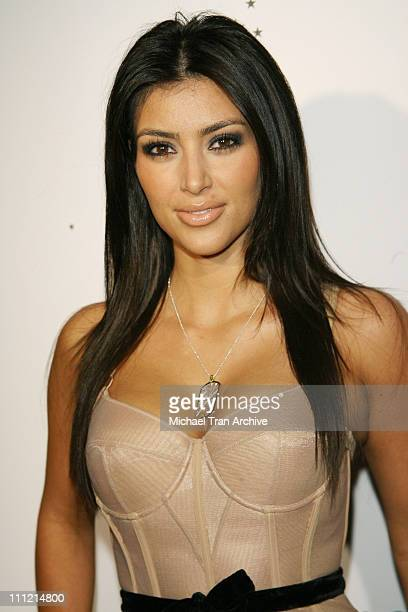 Kim Kardashian during Nefarious Fine Jewelry Spring 2007 Collection and Holiday Party at Shag in Hollywood California United States