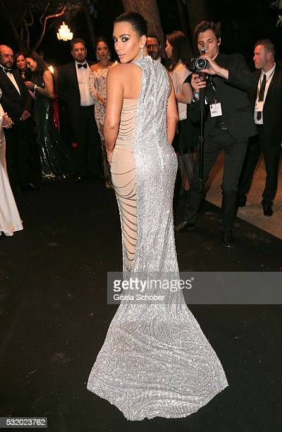 Kim Kardashian during the 'De Grisogono' Party at the annual 69th Cannes Film Festival at Hotel du CapEdenRoc on May 17 2016 in Cap d'Antibes France