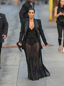 Kim Kardashian is seen in Hollywood on April 30 2015 in Los Angeles California