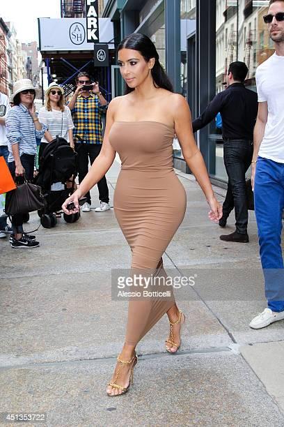 Kim Kardashian is seen on June 27 2014 in New York City