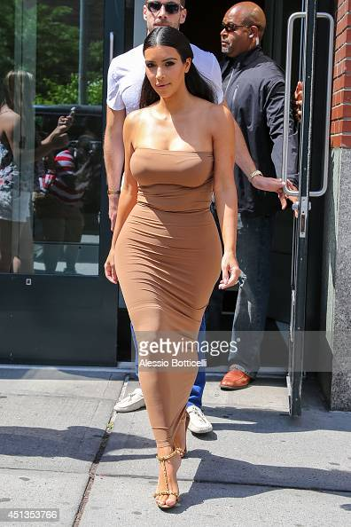 Kim Kardashian is seen on June 27 2014 in New York City