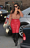 Kim Kardashian is seen on October 27 2012 in New York City