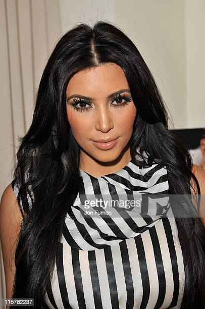 Kim Kardashian launches her new scent at Debenhams on June 8 2011 in London England