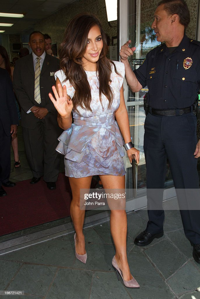 <a gi-track='captionPersonalityLinkClicked' href=/galleries/search?phrase=Kim+Kardashian&family=editorial&specificpeople=753387 ng-click='$event.stopPropagation()'>Kim Kardashian</a> makes an appearance at North Miami City Hall to receive key to the City Of North Miami on November 19, 2012 in North Miami, Florida.