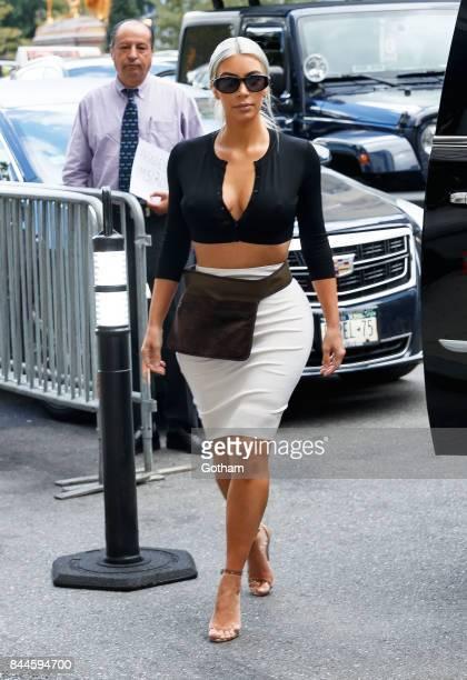 Kim Kardashian on September 8 2017 in New York City