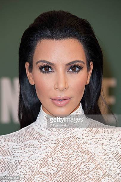 Kim Kardashian promotes her book 'Kim Kardashian West Selfish' at Barnes Noble 5th Avenue on May 5 2015 in New York City