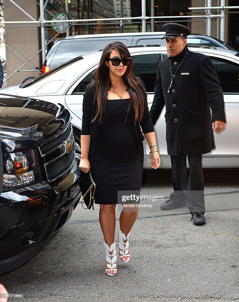 <a gi-track='captionPersonalityLinkClicked' href=/galleries/search?phrase=Kim+Kardashian&family=editorial&specificpeople=753387 ng-click='$event.stopPropagation()'>Kim Kardashian</a> seen on the streets of Manhattan on April 22, 2013 in New York City.
