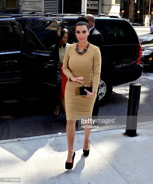 Kim Kardashian sighting on September 12 2011 in New York City