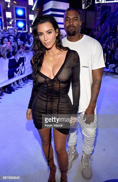 kim-kardashian-west-and-kanye-west-attend-the-2016-mtv-video-music-picture-id597560640