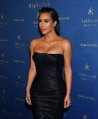 Kim Kardashian West arrives at Hakkasan Las Vegas Nightclub inside MGM Grand on July 22 2016 in Las Vegas Nevada