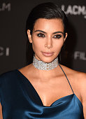 Kim Kardashian West arrives at the 2014 LACMA Art Film Gala Honoring Barbara Kruger And Quentin Tarantino Presented By Gucci at LACMA on November 1...